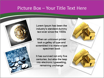 Security metal safe PowerPoint Template - Slide 24