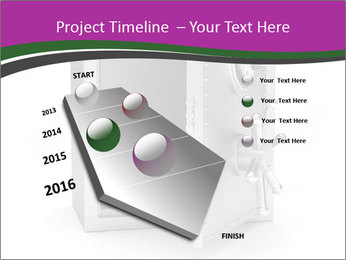 Security metal safe PowerPoint Template - Slide 26