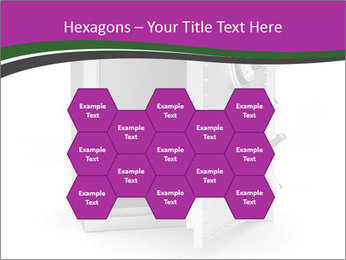 Security metal safe PowerPoint Template - Slide 44