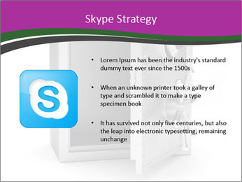 Security metal safe PowerPoint Template - Slide 8