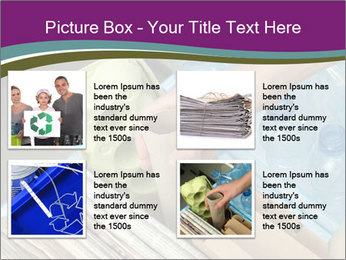 Rubbish recycling PowerPoint Template - Slide 14