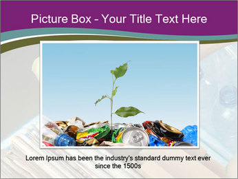 Rubbish recycling PowerPoint Template - Slide 15