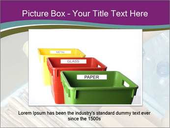 Rubbish recycling PowerPoint Template - Slide 16