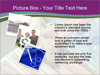Rubbish recycling PowerPoint Template - Slide 17