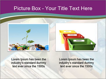 Rubbish recycling PowerPoint Template - Slide 18