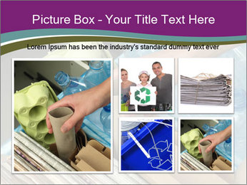 Rubbish recycling PowerPoint Template - Slide 19