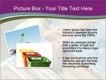Rubbish recycling PowerPoint Template - Slide 20