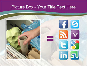 Rubbish recycling PowerPoint Template - Slide 21