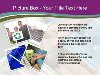 Rubbish recycling PowerPoint Template - Slide 23