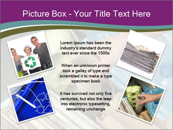 Rubbish recycling PowerPoint Template - Slide 24