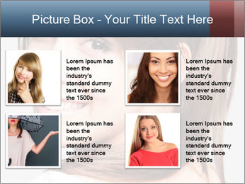 Friendly smiling PowerPoint Template - Slide 14