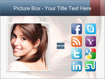 Friendly smiling PowerPoint Template - Slide 21