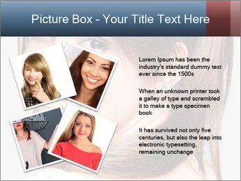 Friendly smiling PowerPoint Template - Slide 23