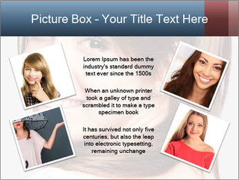 Friendly smiling PowerPoint Template - Slide 24