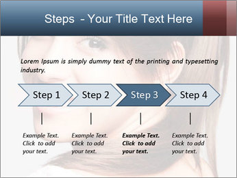 Friendly smiling PowerPoint Template - Slide 4