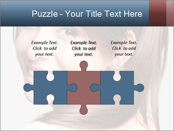 Friendly smiling PowerPoint Template - Slide 42