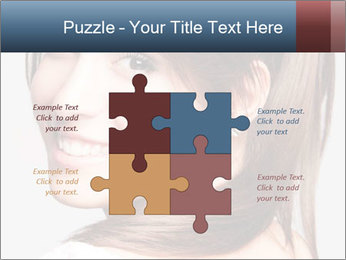 Friendly smiling PowerPoint Template - Slide 43