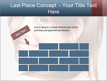 Friendly smiling PowerPoint Template - Slide 46