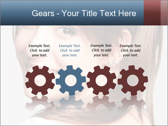 Friendly smiling PowerPoint Template - Slide 48
