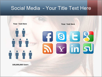 Friendly smiling PowerPoint Template - Slide 5