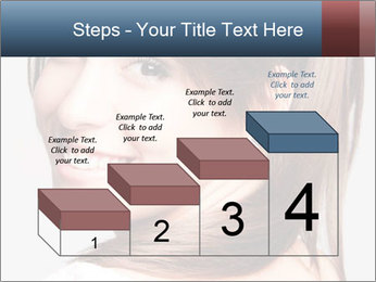 Friendly smiling PowerPoint Template - Slide 64