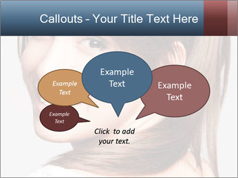 Friendly smiling PowerPoint Template - Slide 73
