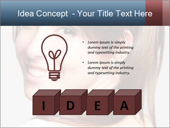 Friendly smiling PowerPoint Template - Slide 80