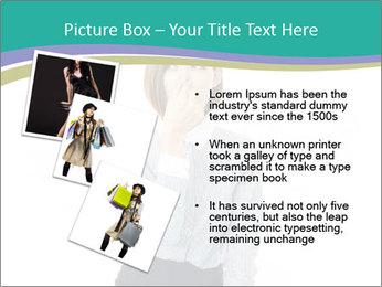 Beautiful female PowerPoint Template - Slide 17