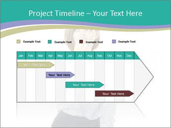 Beautiful female PowerPoint Template - Slide 25