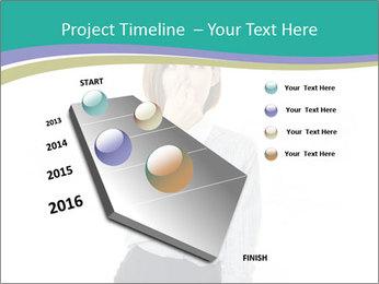 Beautiful female PowerPoint Template - Slide 26