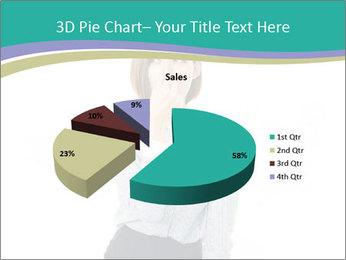 Beautiful female PowerPoint Template - Slide 35