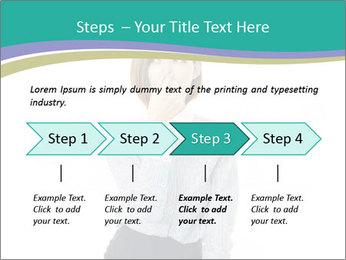Beautiful female PowerPoint Template - Slide 4