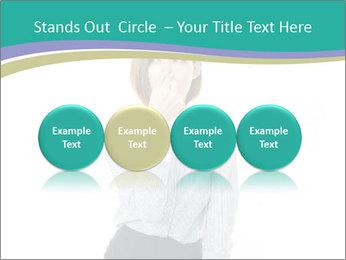 Beautiful female PowerPoint Template - Slide 76
