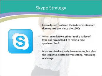 Beautiful female PowerPoint Template - Slide 8