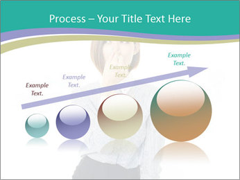Beautiful female PowerPoint Template - Slide 87