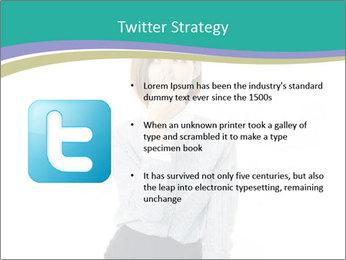 Beautiful female PowerPoint Template - Slide 9