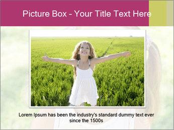 Cute little girl PowerPoint Template - Slide 15