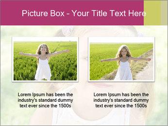 Cute little girl PowerPoint Template - Slide 18