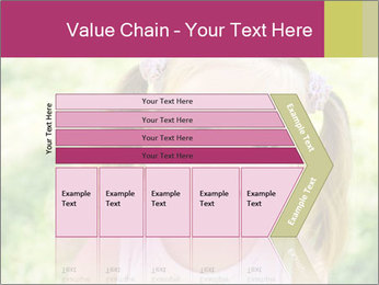 Cute little girl PowerPoint Template - Slide 27