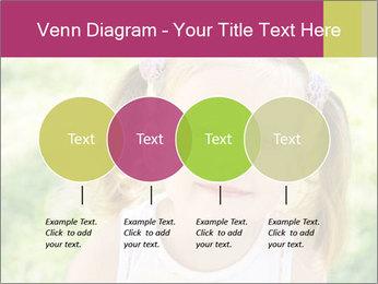 Cute little girl PowerPoint Template - Slide 32