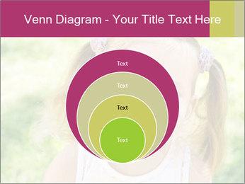 Cute little girl PowerPoint Template - Slide 34