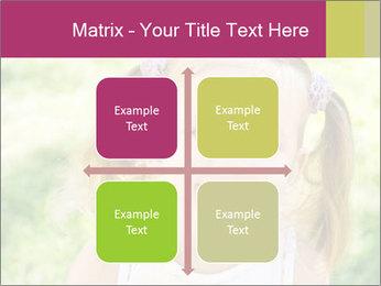 Cute little girl PowerPoint Template - Slide 37