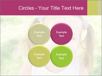 Cute little girl PowerPoint Template - Slide 38