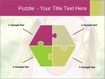 Cute little girl PowerPoint Template - Slide 40