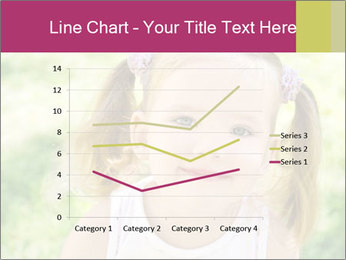 Cute little girl PowerPoint Template - Slide 54