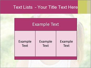 Cute little girl PowerPoint Template - Slide 59