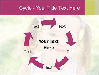 Cute little girl PowerPoint Template - Slide 62
