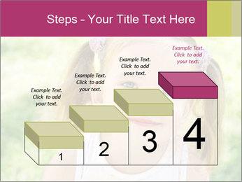 Cute little girl PowerPoint Template - Slide 64
