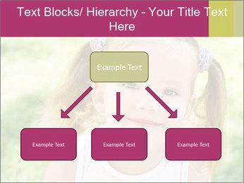 Cute little girl PowerPoint Template - Slide 69