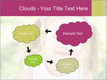 Cute little girl PowerPoint Template - Slide 72